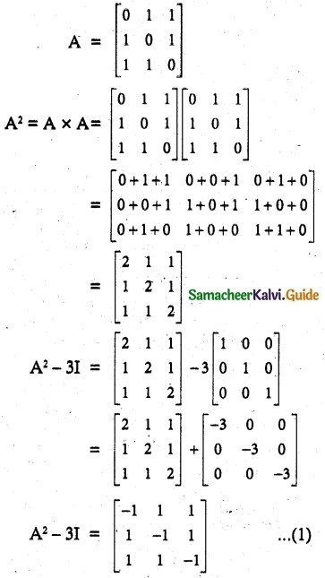 Samacheer Kalvi 12th Maths Guide Chapter 1 Applications of Matrices and Determinants Ex 1.1 40