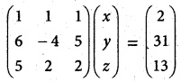 Samacheer Kalvi 12th Maths Guide Chapter 1 Applications of Matrices and Determinants Ex 1.3 5