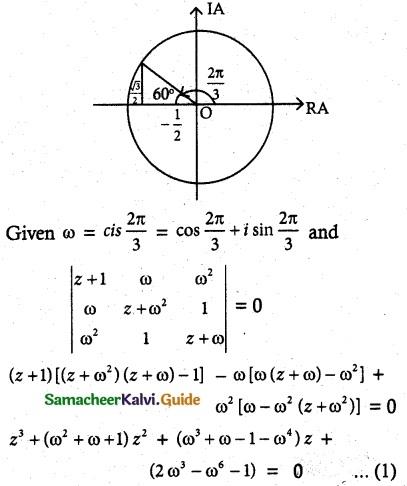 Samacheer Kalvi 12th Maths Guide Chapter 2 Complex Numbers Ex 2.9 14