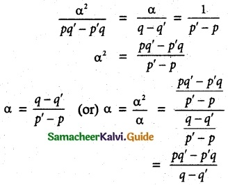 Samacheer Kalvi 12th Maths Guide Chapter 3 Theory of Equations Ex 3.1 8