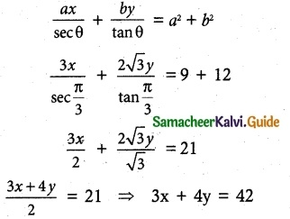 Samacheer Kalvi 12th Maths Guide Chapter 5 Two Dimensional Analytical Geometry - II Ex 5.4 3