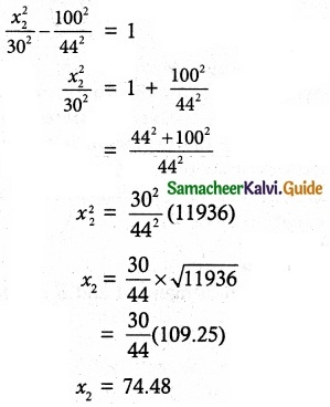 Samacheer Kalvi 12th Maths Guide Chapter 5 Two Dimensional Analytical Geometry - II Ex 5.5 10