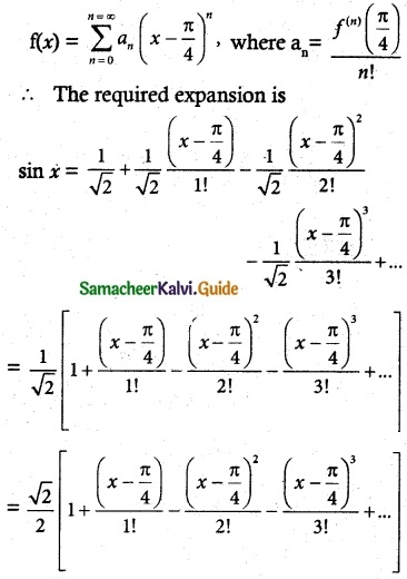 Samacheer Kalvi 12th Maths Guide Chapter 7 Applications of Differential Calculus Ex 7.4 10