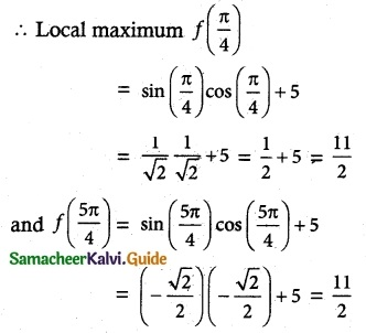Samacheer Kalvi 12th Maths Guide Chapter 7 Applications of Differential Calculus Ex 7.6 6