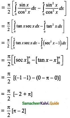 Samacheer Kalvi 12th Maths Guide Chapter 9 Applications of Integration Ex 9.3 19