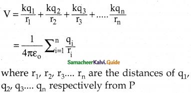 Samacheer Kalvi 12th Physics Guide Chapter 1 Electrostatics 134