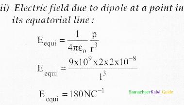 Samacheer Kalvi 12th Physics Guide Chapter 1 Electrostatics 146