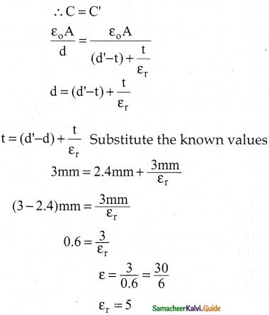 Samacheer Kalvi 12th Physics Guide Chapter 1 Electrostatics 150