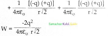 Samacheer Kalvi 12th Physics Guide Chapter 1 Electrostatics 154