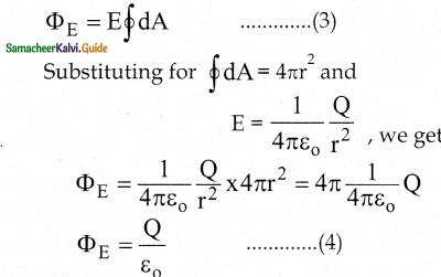 Samacheer Kalvi 12th Physics Guide Chapter 1 Electrostatics 34