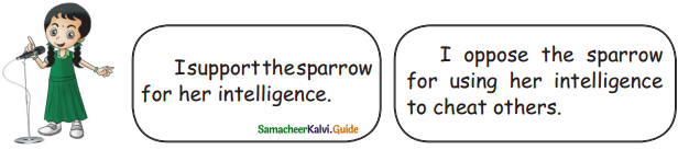 Samacheer Kalvi 5th English Guide Term 3 Supplementary Chapter 1 The Witty Sparrow 10
