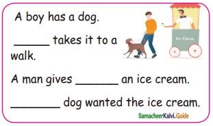 Samacheer Kalvi 5th English Guide Term 3 poem 2 The Dreamer 4