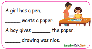 Samacheer Kalvi 5th English Guide Term 3 poem 2 The Dreamer 5