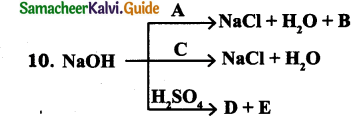 Samacheer Kalvi 9th Science Guide Chapter 14 Acids, Bases and Salts 13