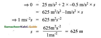 Samacheer Kalvi 9th Science Guide Chapter 2 Motion 27