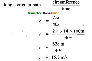 Samacheer Kalvi 9th Science Guide Chapter 2 Motion 8