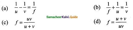 Samacheer Kalvi 9th Science Guide Chapter 6 Light 16