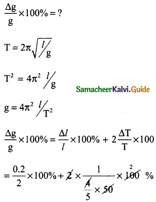 Samacheer Kalvi 11th Physics Guide Chapter 1 Nature of Physical World and Measurement 15
