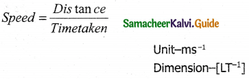 Samacheer Kalvi 11th Physics Guide Chapter 2 Kinematics 14