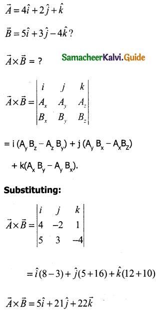 Samacheer Kalvi 11th Physics Guide Chapter 2 Kinematics 44