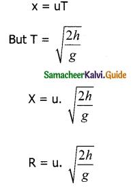 Samacheer Kalvi 11th Physics Guide Chapter 2 Kinematics 99