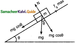Samacheer Kalvi 11th Physics Guide Chapter 3 Laws of Motion 24