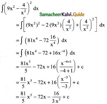 Samacheer Kalvi 12th Business Maths Guide Chapter 2 Integral Calculus I Ex 2.1 2
