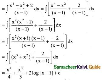 Samacheer Kalvi 12th Business Maths Guide Chapter 2 Integral Calculus I Ex 2.2 2