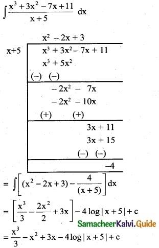 Samacheer Kalvi 12th Business Maths Guide Chapter 2 Integral Calculus I Ex 2.2 4