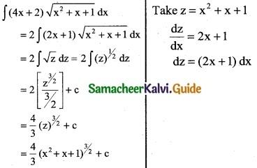 Samacheer Kalvi 12th Business Maths Guide Chapter 2 Integral Calculus I Ex 2.6 5