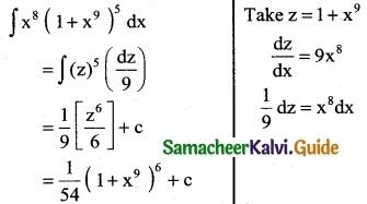 Samacheer Kalvi 12th Business Maths Guide Chapter 2 Integral Calculus I Ex 2.6 6