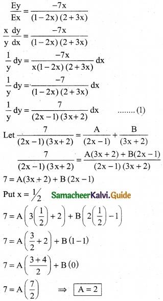 Samacheer Kalvi 12th Business Maths Guide Chapter 3 Integral Calculus II Ex 3.2 1