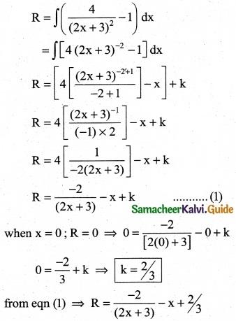 Samacheer Kalvi 12th Business Maths Guide Chapter 3 Integral Calculus II Ex 3.2 10