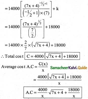 Samacheer Kalvi 12th Business Maths Guide Chapter 3 Integral Calculus II Ex 3.2 14