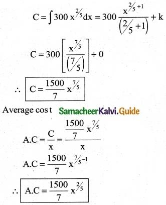 Samacheer Kalvi 12th Business Maths Guide Chapter 3 Integral Calculus II Ex 3.2 5