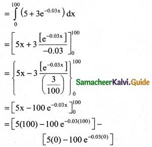 Samacheer Kalvi 12th Business Maths Guide Chapter 3 Integral Calculus II Ex 3.2 8