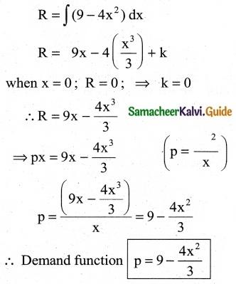 Samacheer Kalvi 12th Business Maths Guide Chapter 3 Integral Calculus II Ex 3.2 9