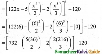 Samacheer Kalvi 12th Business Maths Guide Chapter 3 Integral Calculus II Ex 3.3 1
