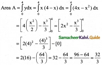 Samacheer Kalvi 12th Business Maths Guide Chapter 3 Integral Calculus II Ex 3.4 1