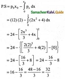 Samacheer Kalvi 12th Business Maths Guide Chapter 3 Integral Calculus II Ex 3.4 5