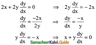 Samacheer Kalvi 12th Business Maths Guide Chapter 4 Differential Equations Ex 4.1 5