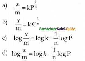 Samacheer Kalvi 12th Chemistry Guide Chapter 10 Surface Chemistry 14
