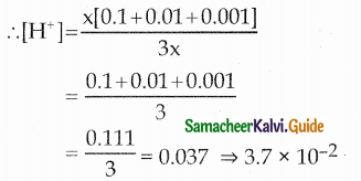 Samacheer Kalvi 12th Chemistry Guide Chapter 8 Ionic Equilibrium 5