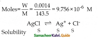Samacheer Kalvi 12th Chemistry Guide Chapter 8 Ionic Equilibrium 75