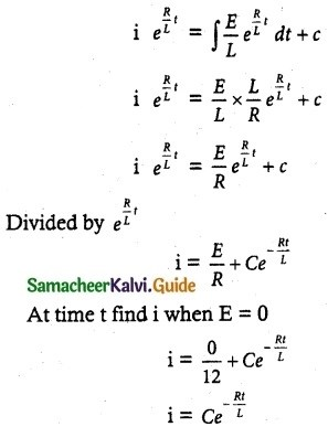 Samacheer Kalvi 12th Maths Guide Chapter 10 Ordinary Differential Equations Ex 10.8 2