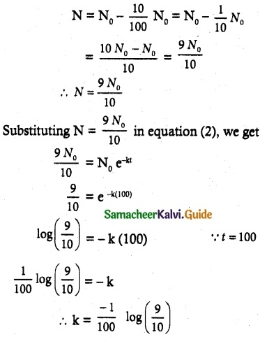 Samacheer Kalvi 12th Maths Guide Chapter 10 Ordinary Differential Equations Ex 10.8 3