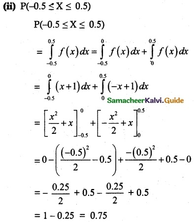 Samacheer Kalvi 12th Maths Guide Chapter 11 Probability Distributions Ex 11.3 18