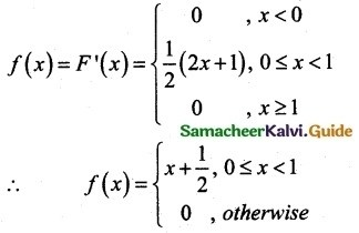 Samacheer Kalvi 12th Maths Guide Chapter 11 Probability Distributions Ex 11.3 20