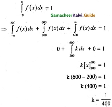 Samacheer Kalvi 12th Maths Guide Chapter 11 Probability Distributions Ex 11.3 7