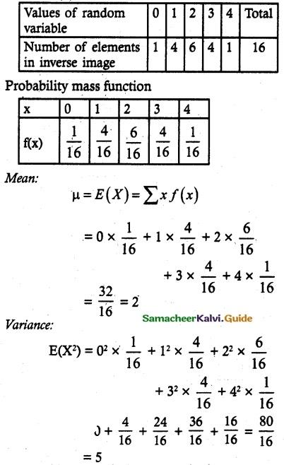 Samacheer Kalvi 12th Maths Guide Chapter 11 Probability Distributions Ex 11.4 10